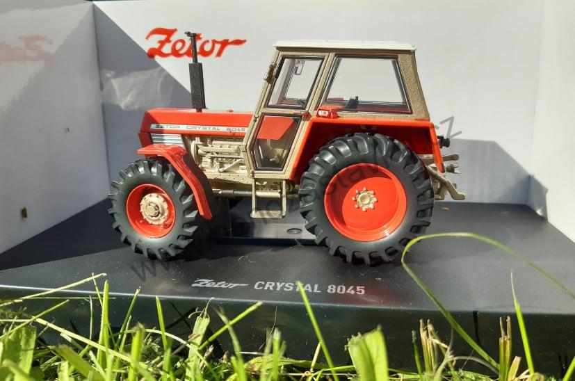Zetor Crystal 8045 - 4WD - kovový model