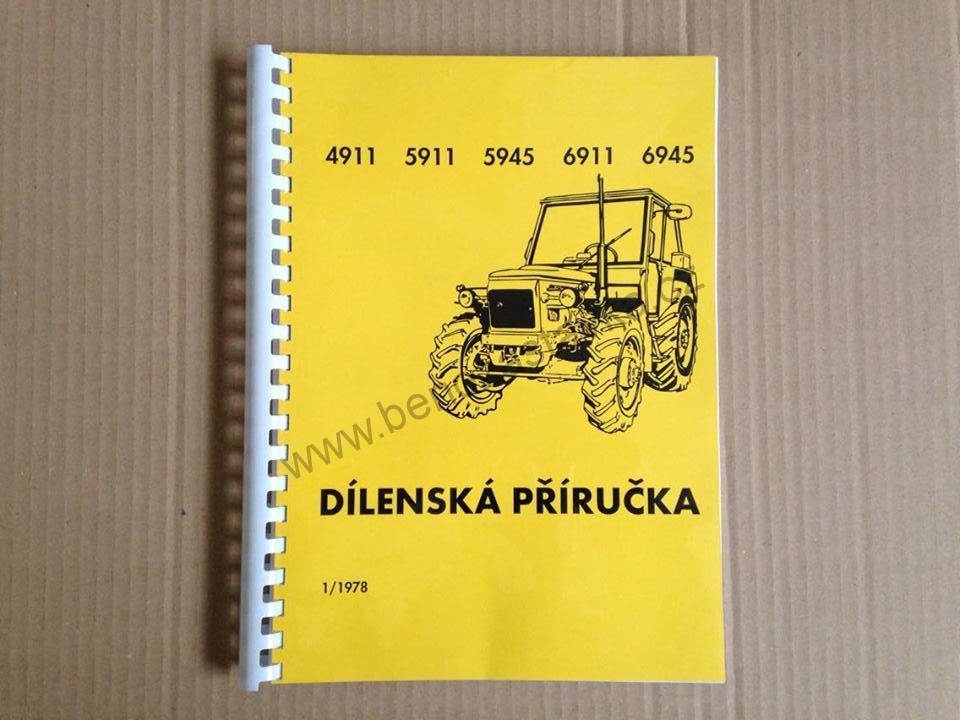 zetor 6911 dílenská příručka